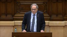 Torra pide un referéndum sobre monarquía tras huida de rey emérito