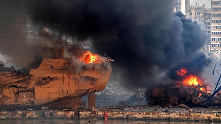 Detienen al director de Aduanas y al jefe del puerto de Beirut | HISPANTV
