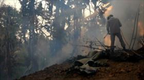 Incendios forestales vuelven a devastar en Sudamérica