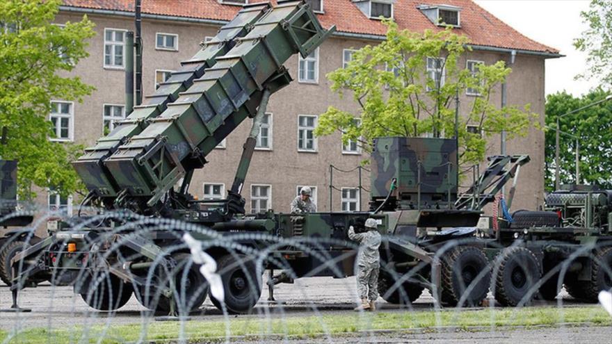 Batería de misiles tierra-aire Patriot de EE.UU. desplegada en una base en Morag, Polonia. (Foto: Reuters)