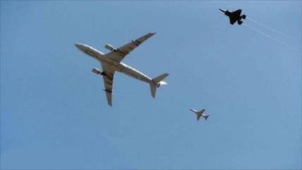 Irán demanda ante ONU el acoso de su avión civil por cazas de EEUU