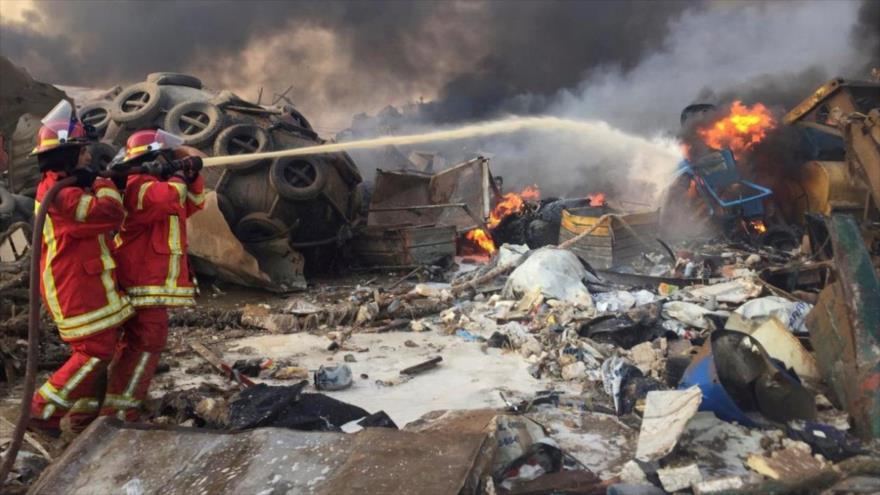 El Líbano: Hay aún más de 60 desaparecidos por explosión en Beirut