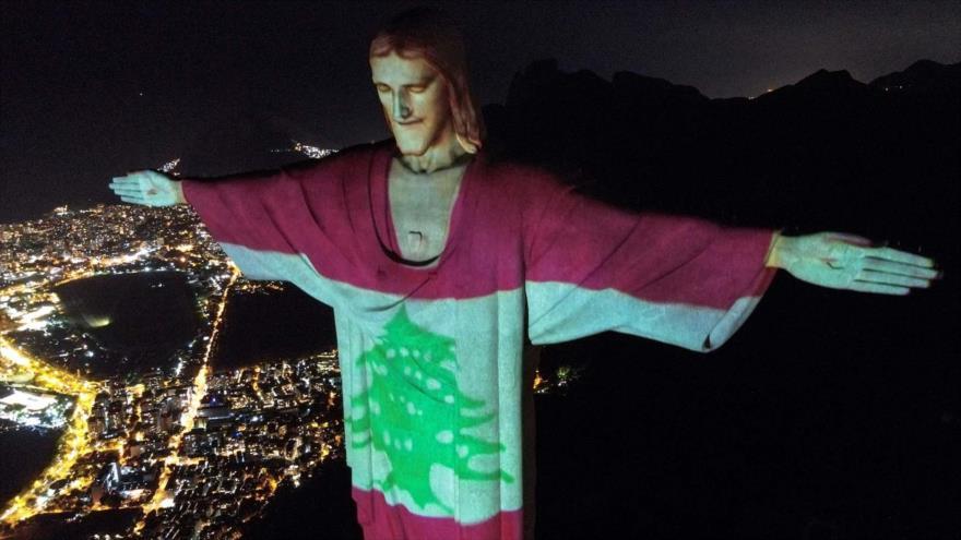 Homenajes a El Líbano por explosión en Beirut alrededor del mundo