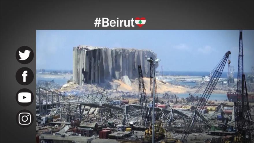 Etiquetaje: Beirut, bajo las ruinas, en medio de críticas a EEUU y Francia