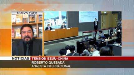Quesada: Trump desvía atención de problemas, sancionando a China