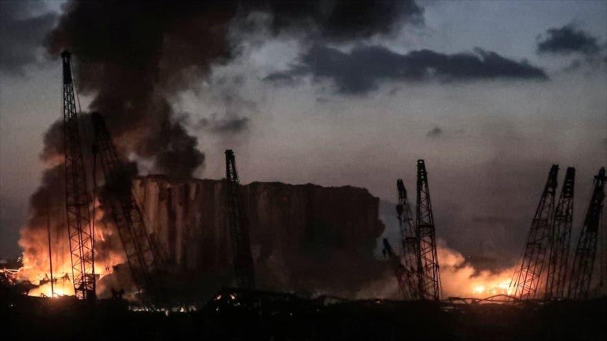 Sondeo: Eje EEUU-Israel-Arabia Saudí, detrás de explosión en Beirut | HISPANTV