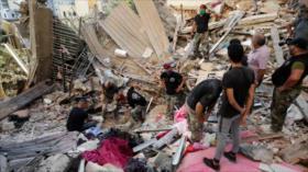 Casi un tercio de muertos por la explosión en Beirut son sirios