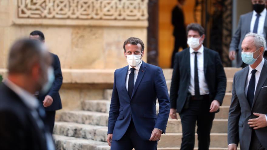 Critican a Macron por tratar a El Líbano como una colonia gala | HISPANTV