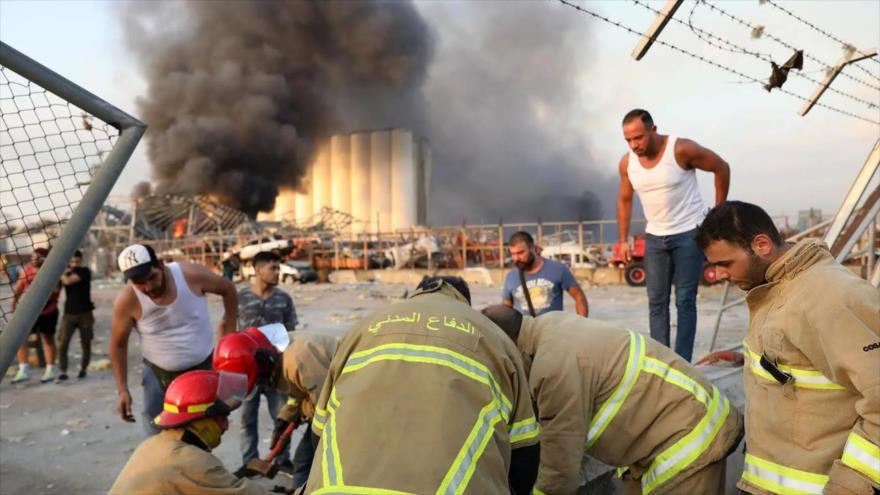 """La """"negligencia"""" sería la principal causa de la tragedia de Beirut"""