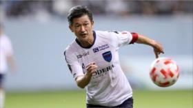 Japonés rompe su récord de jugador más longevo en copa profesional
