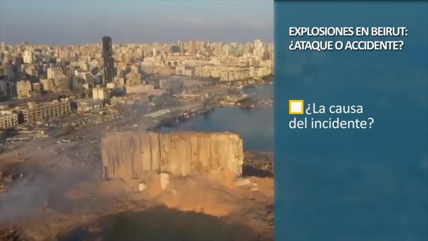 PoliMedios: Explosiones en Beirut, ¿ataque o accidente?