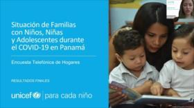 Encuesta de Unicef revela impacto desigual de la pandemia en Panamá