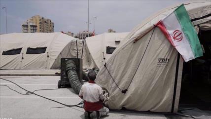 En fotos: Irán instala un hospital de campaña en Beirut