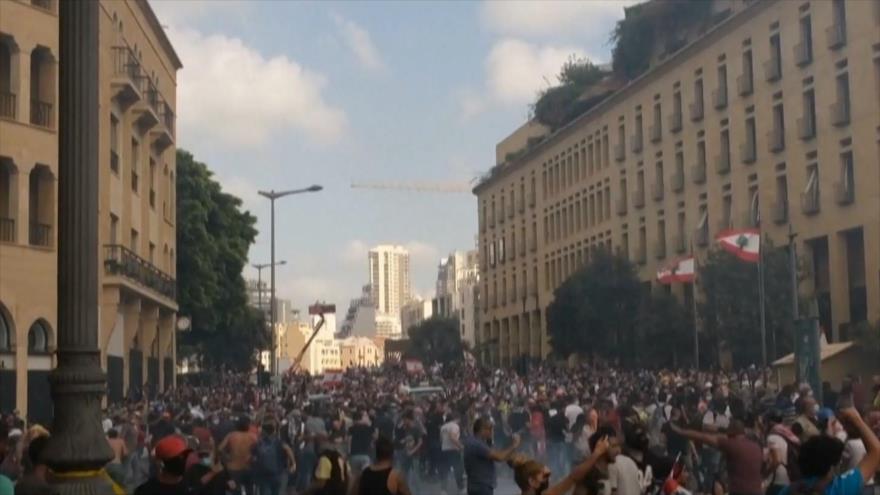 Protestas en Líbano. Mapuche contra represión. Comicios en Bolivia - Boletín: 14:30 - 09/08/2020