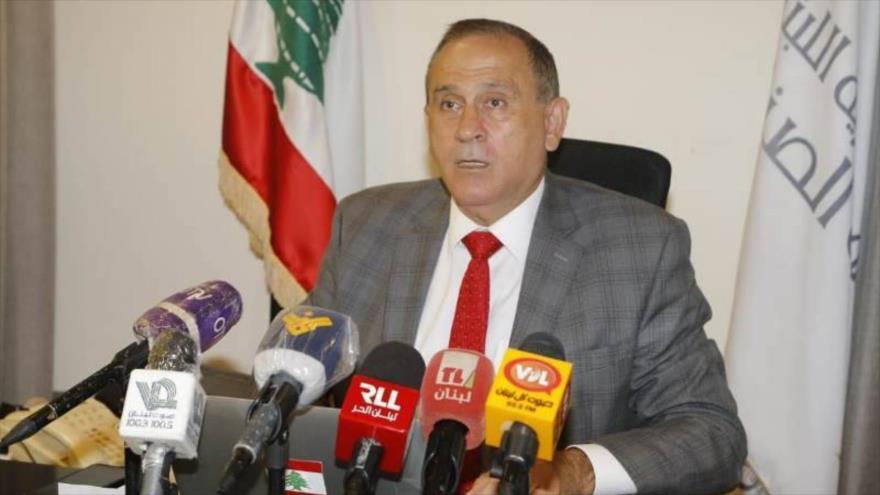 El ministro de Industria de El Líbano, Imad Hobolá.