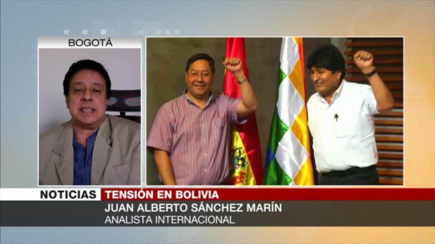 Sánchez Marín: Gobierno de facto pisotea la democracia en Bolivia | HISPANTV