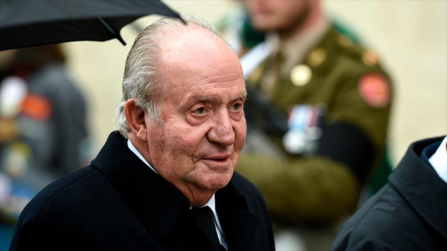 Juan Carlos I, rey emérito de España, en una ceremonia en Luxemburgo, 4 de mayo de 2019. (Foto: AFP)
