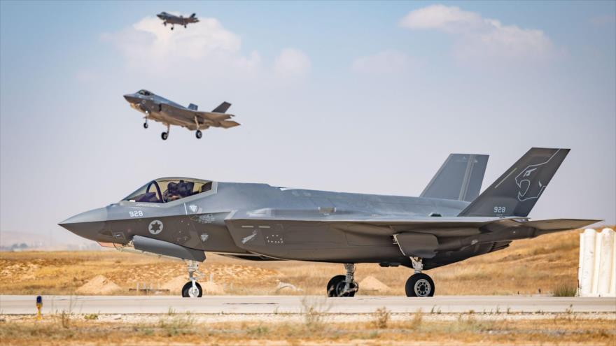 Israel y EEUU realizan simulacro aéreo conjunto con aviones F-35   HISPANTV
