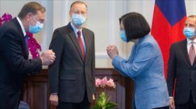 EEUU provoca a China con viaje de un ministro a Taiwán