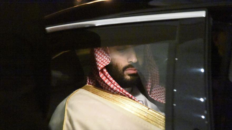 El príncipe heredero saudí, Muhamad bin Salman.