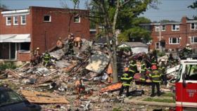 Vídeo: gran explosión arrasa tres edificios residenciales en EEUU