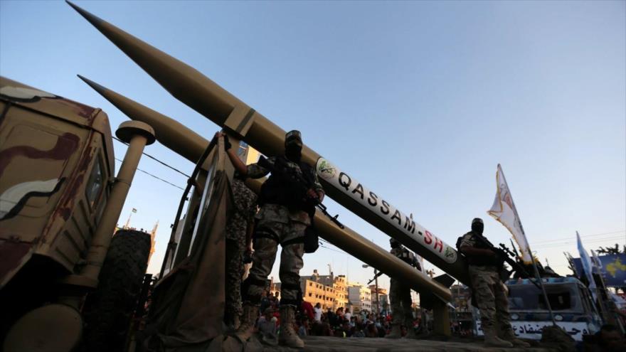 HAMAS muestra músculo a Israel lanzando misiles hacia Mediterráneo | HISPANTV