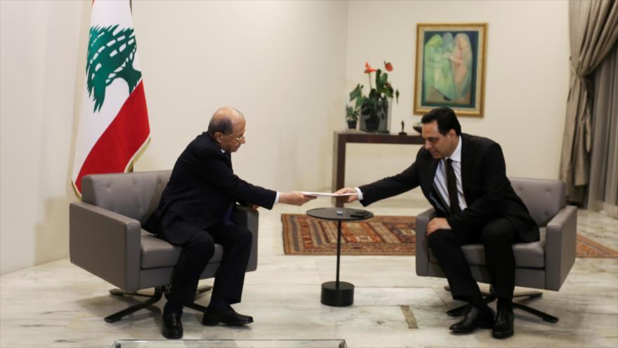Primer ministro de El Líbano anuncia la dimisión de su Gobierno