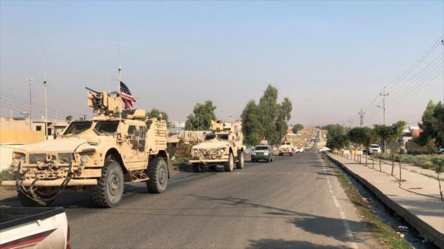 Vídeo: Atacan convoy de EEUU en un cruce en frontera de Irak y Kuwait