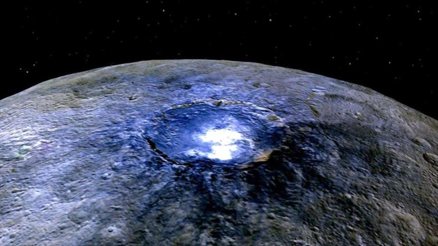 NASA describe a Ceres como planeta geológicamente vivo