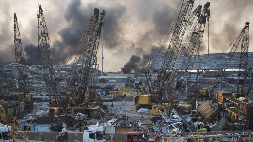 Hezbolá conoce el puerto de Haifa más que el de Beirut | HISPANTV