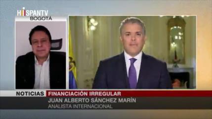 Sánchez Marín: Campaña de Duque tuvo financiación irregular