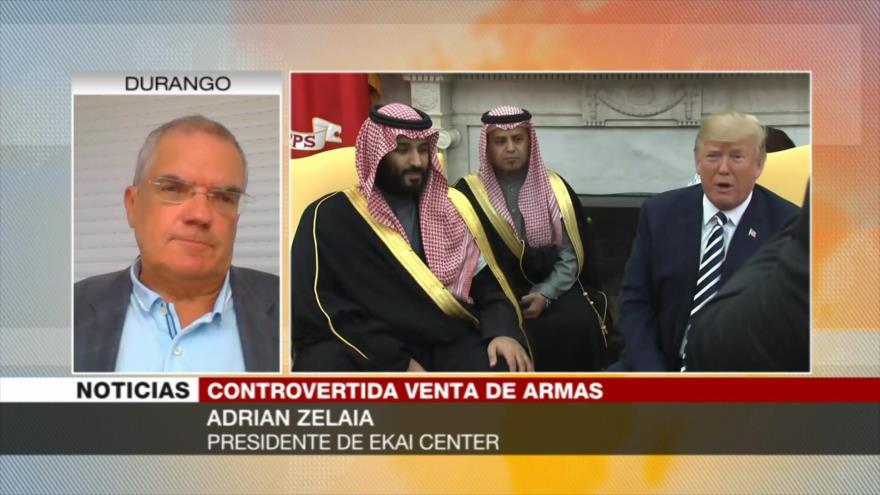 Zelaia: EEUU no dejará de vender armas a Riad pese a toda presión