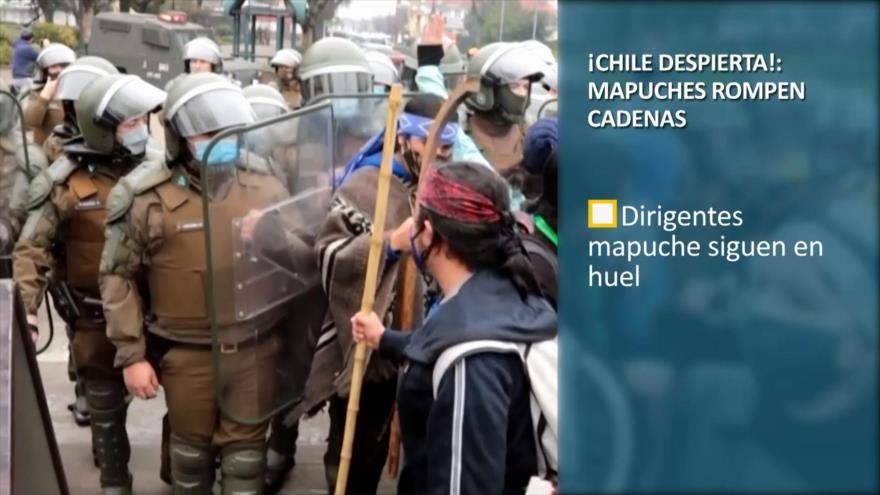 PoliMedios: ¡Chile despierta!: mapuches rompen cadenas