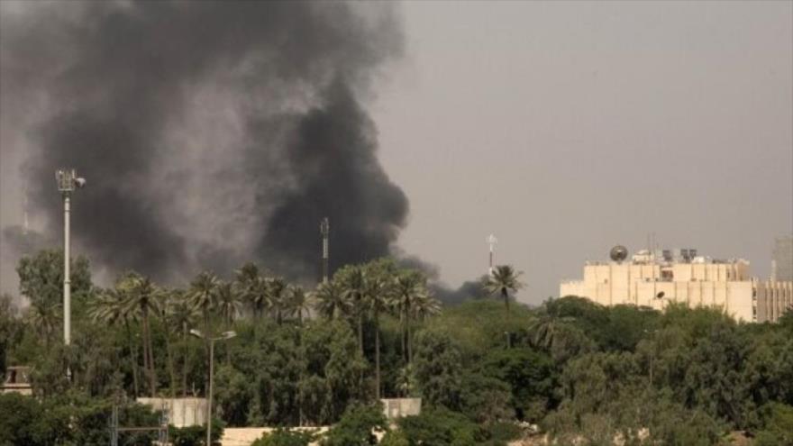 Un cohete impacta zona verde de Bagdad, cerca de embajada de EEUU