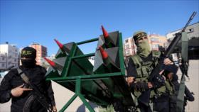 Resistencia palestina promete responder con toda fuerza a Israel