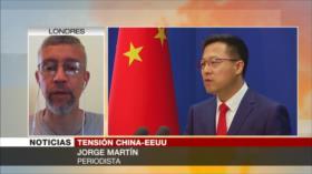 Martín: Trump quiere conseguir una posición de fuerza ante China