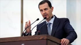 Bashar al-Asad: EEUU e Israel buscan mantener activos a terroristas