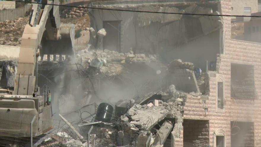 'Israel sigue demoliendo casas palestinas en medio de la pandemia'