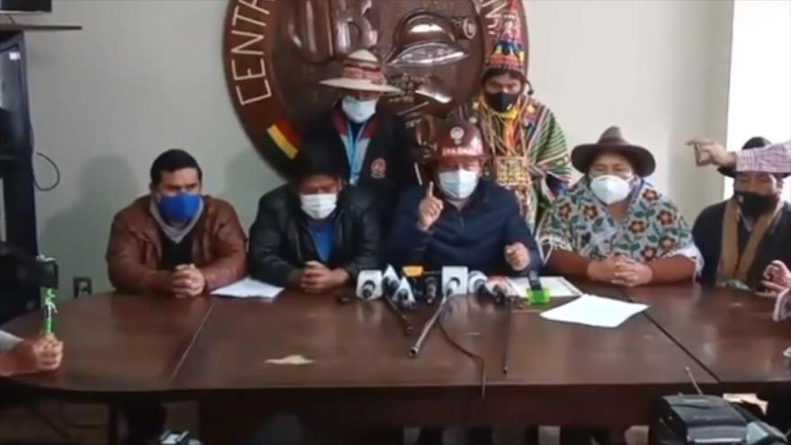 Pacto de Unidad pide que comicios sean 11 de octubre en Bolivia