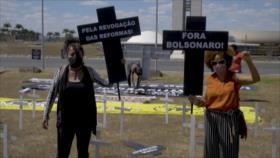 Movimientos contra racismo denuncian a Bolsonaro por genocidio
