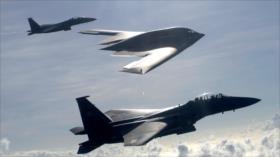 EEUU envía tres bombarderos furtivos B-2 al oceano Índico