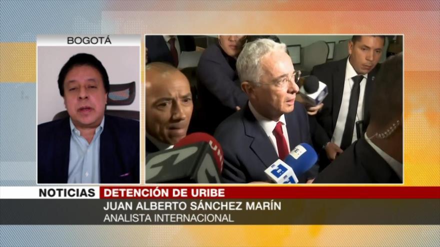 Analista sobre Uribe: En Colombia vuelven víctimas a victimarios