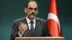 Turquía a Emiratos: Quienes traicionan a Palestina fracasarán
