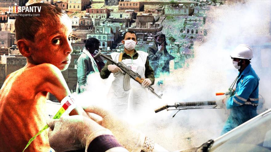 La tragedia de la guerra saudí en Yemen: coronavirus y hambruna | HISPANTV