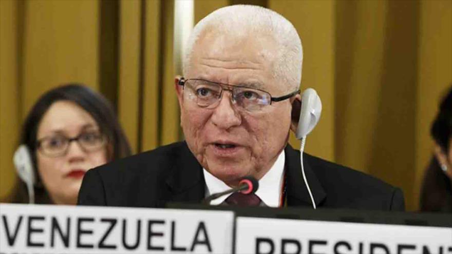 El embajador de Venezuela ante la Organización de las Naciones Unidas (ONU), Jorge Valero.