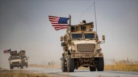 EEUU despacha 40 camiones militares a zonas petroleras de Siria