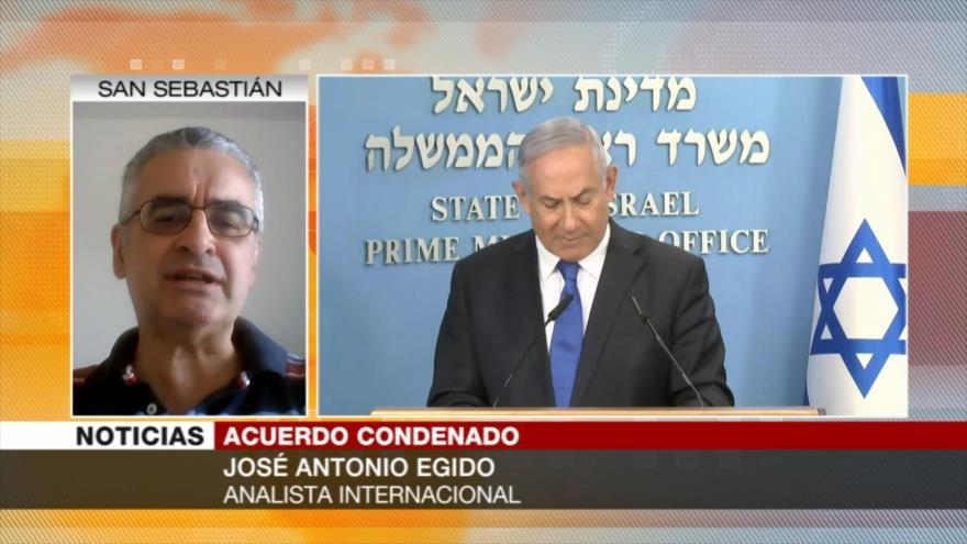 """Egido: Acuerdo EAU-Israel tendrá """"malas consecuencias para todos"""""""