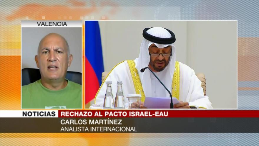 Martínez: Emiratos se perjudica a sí mismo con acuerdo con Israel
