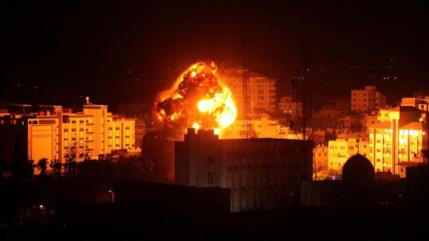 Israel bombardea varios puntos de la Franja de Gaza