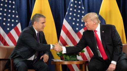 Sondeo: EEUU interviene en Colombia para evitar la caída de Duque